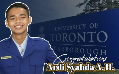 Proudly, Our Student Accepted into the University of Toronto