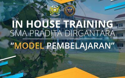 SMA Pradita Dirgantara Hold In House Training for Learning Models for Teachers