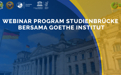 "Attended by more than 300 participants, SMA Pradita Dirgantara held a Webinar entitled ""How to Apply to Study in Germany with Studienbrücke Programme?"