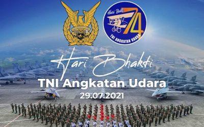 Makna di Balik Peringatan Hari Bhakti ke-74 TNI AU